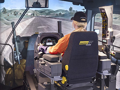 Immersive Technologies Caterpillar 24m Grader Training