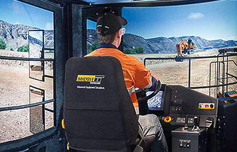 Simulator for Hitachi Haul Truck EH5000 AC3