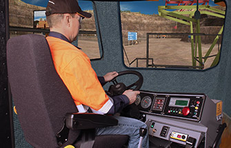Simulator for Hitachi Haul Truck EH4500-S1 (AC)