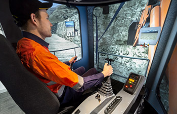 Simulator for Hitachi Hydraulic Shovel/Excavator EX1200-5D