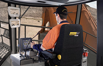 immersive technologies hydraulic shovel and excavator