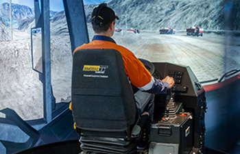 Simulator for Iveco Trakker Light Truck
