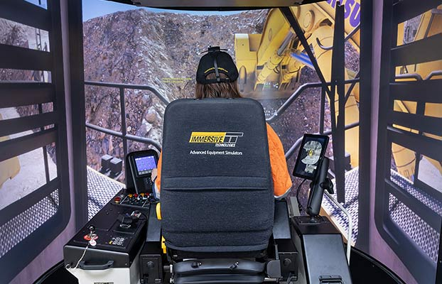 Simulator for Cat® 6020B Excavator