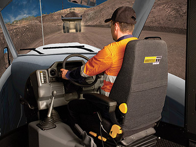 Light Vehicle Training Simulator Module on PRO3