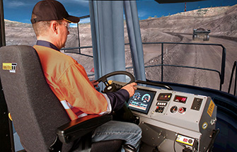 Simulator for Liebherr Haul Truck T282B