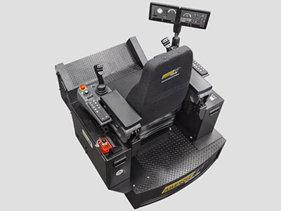 CAT® MD6250 Surface Drill Training Simulator Module (Overhead view)