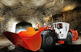 Simulator for Sandvik Underground Loader LH514, LH517
