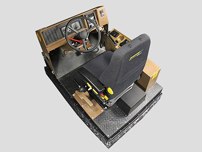 Training Simulator Modele for Cat 785B, 789B, 793B Haul Trucks (Overhead view)