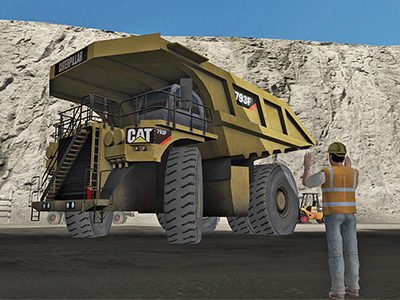 Cat 793F, 797F Haul Truck Safe Operating Procedure Training