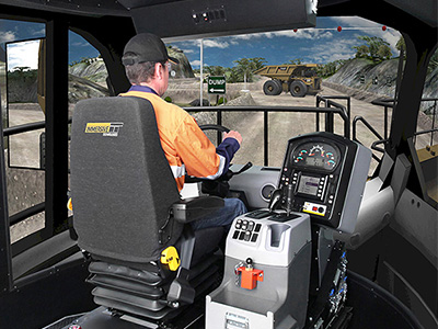 Training Simulator Module for Cat 793F, 797F Haul Trucks on PRO3