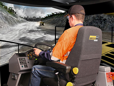 Komatsu HD785-7 Haul Truck Training Simulator Module on PRO3