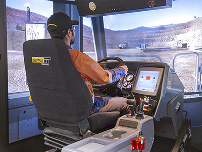 Liebherr T282C, T284 Haul Truck Training Simulator Module on PRO3