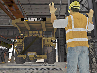 Cat 795F-AC Safe Operating Procedure Training