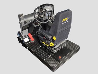 Training Simulator Module for Cat 795F AC Haul Trucks (Overhead view)