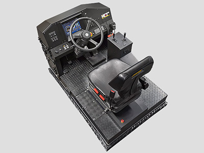 Hitachi EH5000 AC3 Haul Truck Training Simulator Module (Overhead view)