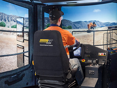 Hitachi EH5000 AC3 Haul Truck Training Simulator Module on PRO4