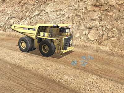 Komatsu 960E-1 Safe Operating Procedure Training