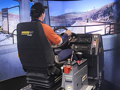 Komatsu 960E-1 Haul Truck  Training Simulator Module on PRO3
