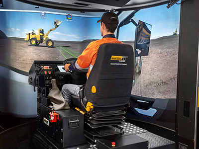 Training Simulator Module for Volvo FH16 On-Road Truck