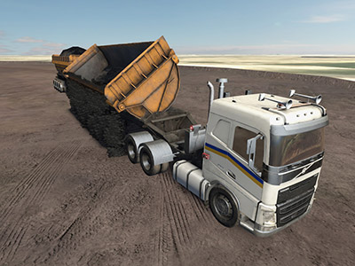 Volvo FH16 Dumping Training