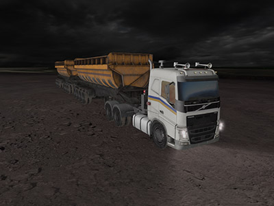 Volvo FH16 Night Operating Training
