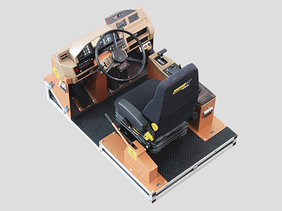 Komatsu HD325-6, HD785-5 Haul Truck Training Simulator Module (Overhead view)