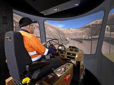Komatsu HD325-6, HD785-5 Haul Truck Training Simulator Module on PRO3