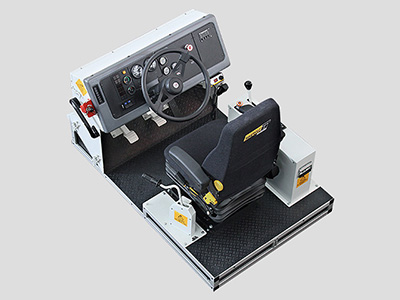 Training Simulator Module for Cat (Bucyrus) MT4400 DC, MT4400 AC Haul Trucks (Overhead view)