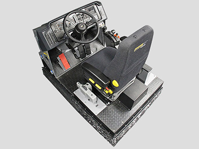 Training Simulator Module for Cat 785C, 789C, 793C, 785D, 789D, 793D, 797 Haul Trucks (Overhead view)