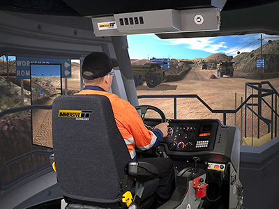 Training Simulator Module for Cat 785C, 789C, 793C, 785D, 789D, 793D, 797 Haul Trucks on PRO3
