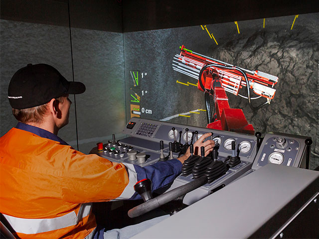 Sandvik DS311 Bolter Training Simulator Module