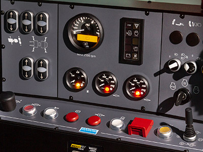 Sandvik DS411-C - Full Carrier Controls to simulate safe tramming procedure