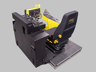 Atlas Copco 282 Rocket Boomer Training Simulator Module (Overhead view)
