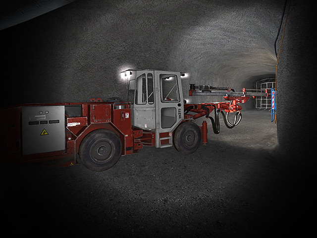 Sandvik DD311 Tramming Training