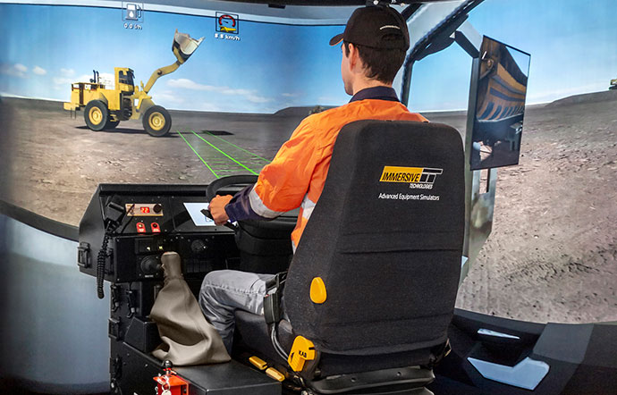 Simulator for Volvo FH16 550C On-Road Truck