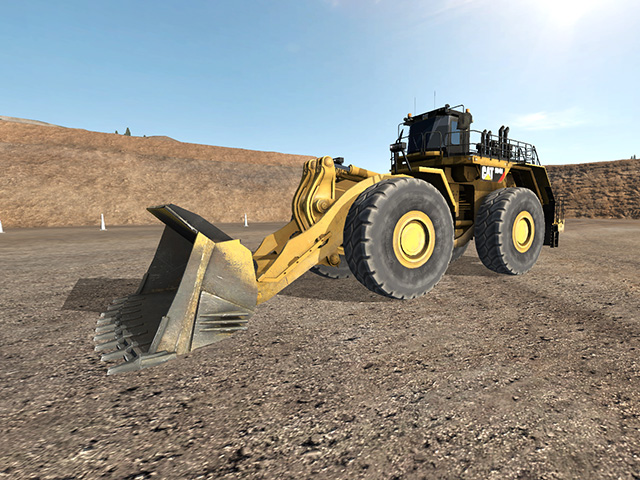 Cat 994H Extended