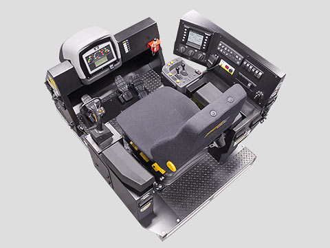 Training Simulator Module for Cat 992K, 994H  Wheel Loaders (Overhead view)