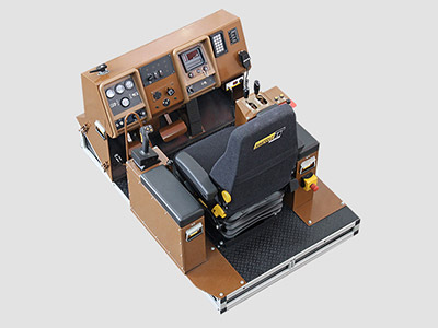 Training Simulator Module for Cat 994D Wheel Loader (Overhead view)
