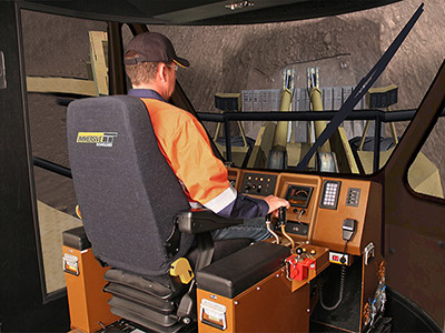 Training Simulator Module for Cat 994D Wheel Loader on PRO3