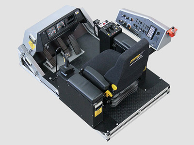 Training Simulator Module for Cat 992G Wheel Loaders (Overhead view)
