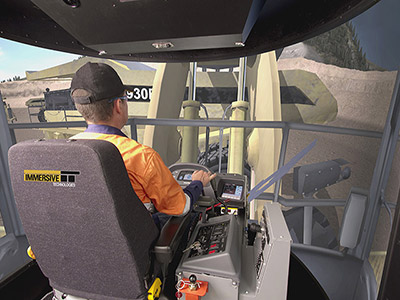 Komatsu WA1200-3 Wheel Loader Training Simulator Module on PRO3