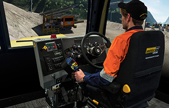 Simulator for Western Star 6900XD Truck