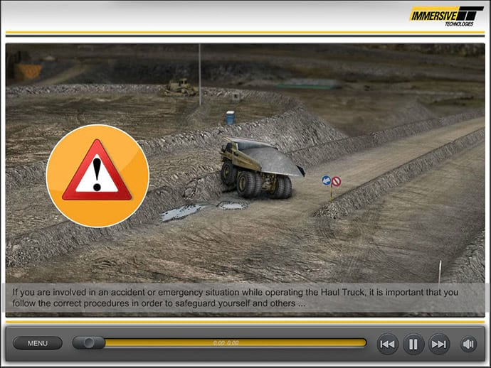 CAT 793C, 793D Haul Truck - Accident
