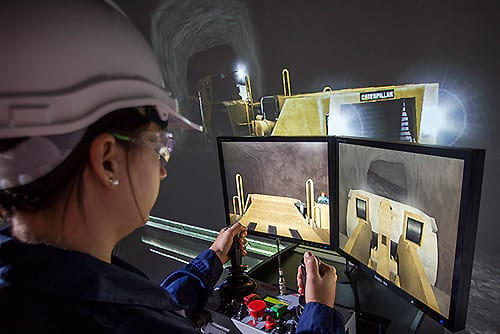 Immersive Technologies' Remote Operation on IM360 Simulator Platform