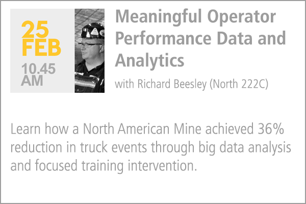 Meaningful Operator Performance Data and Analytics