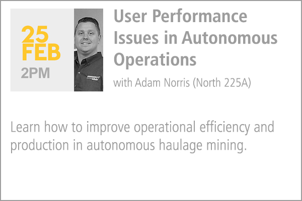 User Performance Issues in Autonomous Operations